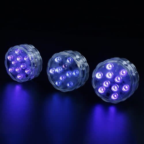 Gold Submersible Led Lights