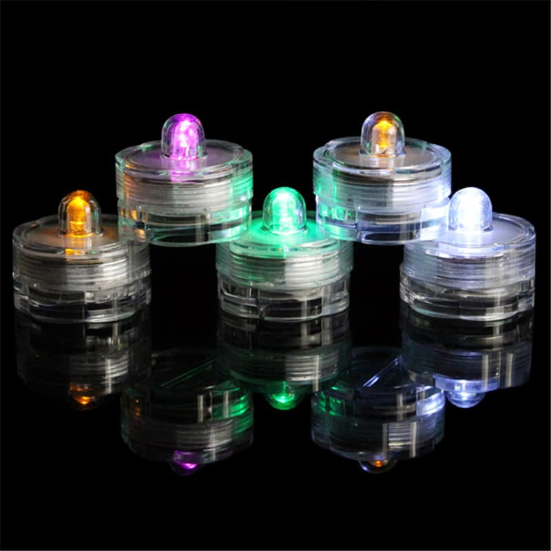 Floral led submersible light