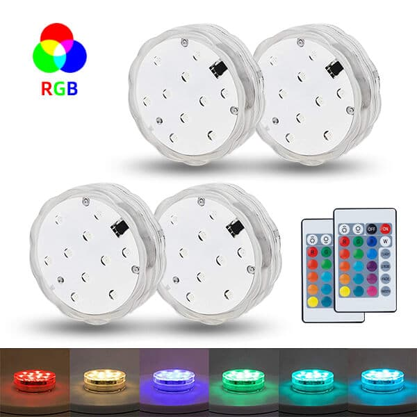 Waterproof Multi Color Underwater Lights
