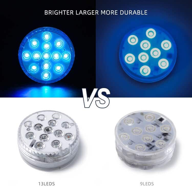 Remote Control Led Puck Lights
