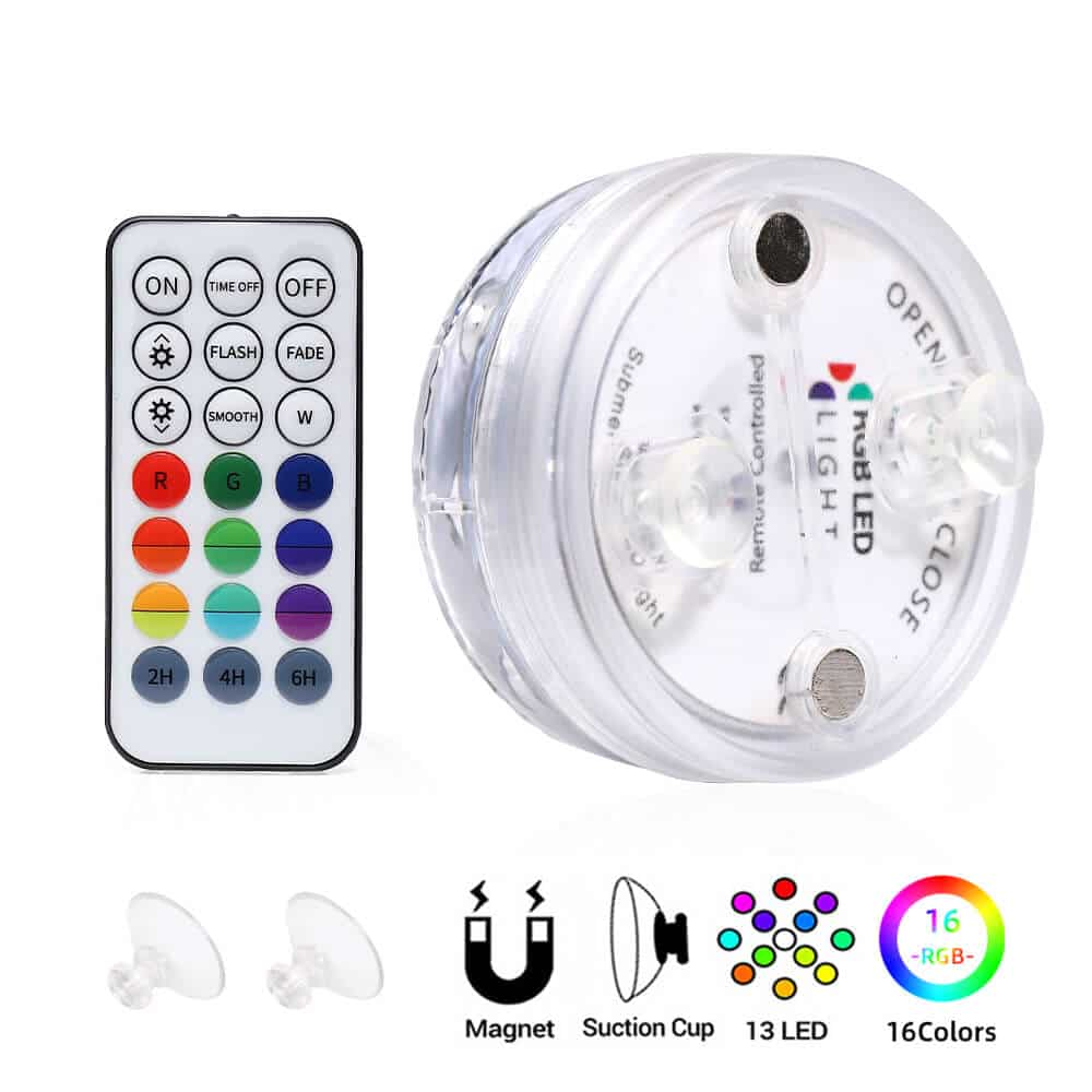 Submersible Led Lights Remote Control