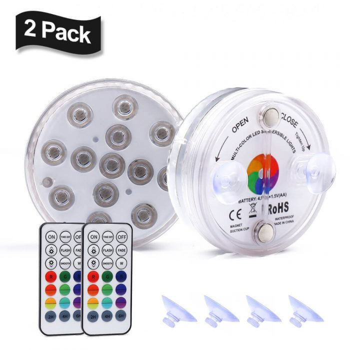 remote controlled led light
